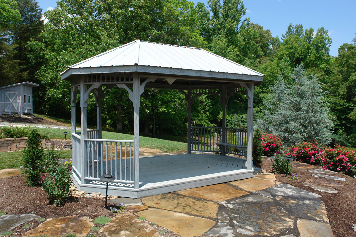 Gazebo Wedding Venue Knoxville