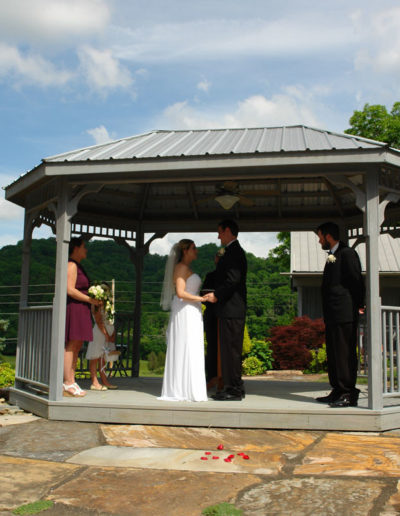Gazebo Wedding Venue Knoxville TN
