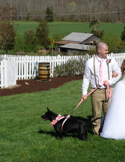 Dog Friendly Wedding Venue Knoxville TN